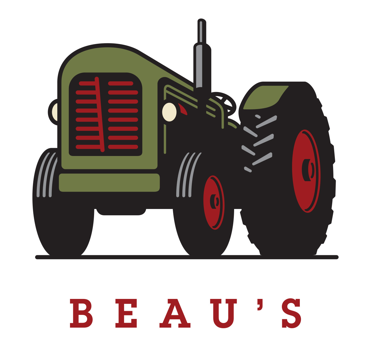 beaus logo colour